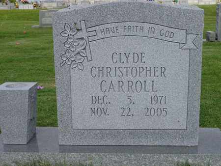 CARROLL, CLYDE CHRISTOPHER - Lewis County, Tennessee | CLYDE CHRISTOPHER CARROLL - Tennessee Gravestone Photos