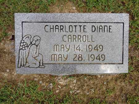 CARROLL, CHARLOTTE DIANE - Lewis County, Tennessee | CHARLOTTE DIANE CARROLL - Tennessee Gravestone Photos