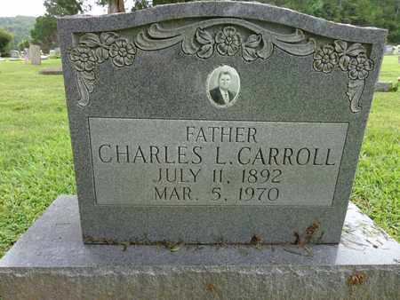 CARROLL, CHARLES L - Lewis County, Tennessee   CHARLES L CARROLL - Tennessee Gravestone Photos