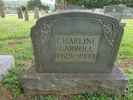 CARROLL, CHARLINE - Lewis County, Tennessee | CHARLINE CARROLL - Tennessee Gravestone Photos