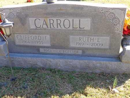 CARROLL, RUTH E - Lewis County, Tennessee | RUTH E CARROLL - Tennessee Gravestone Photos