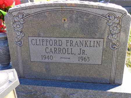 CARROLL, CLIFFORD FRANKLIN (JR) - Lewis County, Tennessee | CLIFFORD FRANKLIN (JR) CARROLL - Tennessee Gravestone Photos