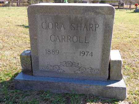 CARROLL, CORA SHARP - Lewis County, Tennessee | CORA SHARP CARROLL - Tennessee Gravestone Photos