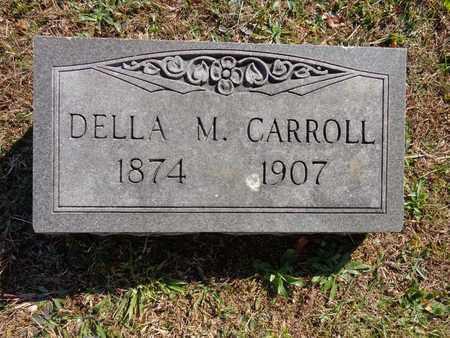 CARROLL, DELLA M - Lewis County, Tennessee | DELLA M CARROLL - Tennessee Gravestone Photos