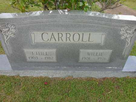 CARROLL, WILLIE - Lewis County, Tennessee | WILLIE CARROLL - Tennessee Gravestone Photos