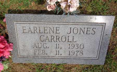 CARROLL, EARLENE JONES - Lewis County, Tennessee | EARLENE JONES CARROLL - Tennessee Gravestone Photos