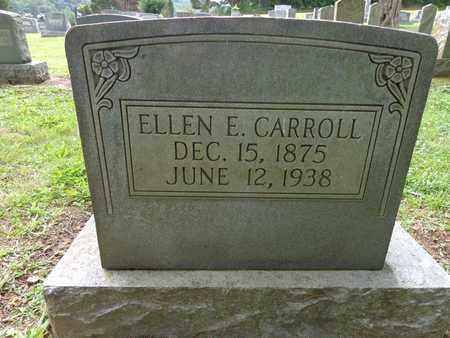 CARROLL, ELLEN E - Lewis County, Tennessee | ELLEN E CARROLL - Tennessee Gravestone Photos