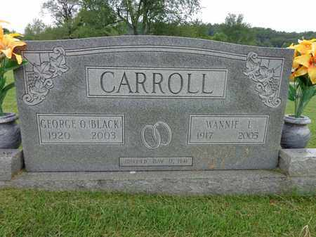 "CARROLL, GEORGE O ""BLACK"" - Lewis County, Tennessee 