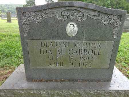 CARROLL, IDA M - Lewis County, Tennessee | IDA M CARROLL - Tennessee Gravestone Photos