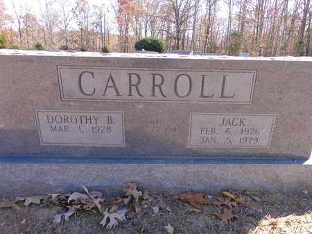 CARROLL, JACK - Lewis County, Tennessee | JACK CARROLL - Tennessee Gravestone Photos