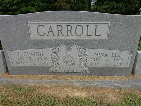 CARROLL, J CLAUDE - Lewis County, Tennessee | J CLAUDE CARROLL - Tennessee Gravestone Photos