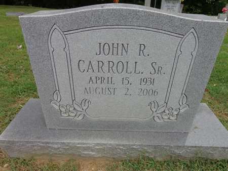 CARROLL, JOHN R (SR) - Lewis County, Tennessee | JOHN R (SR) CARROLL - Tennessee Gravestone Photos