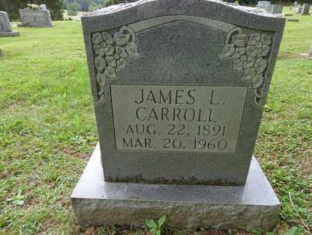 CARROLL, JAMES L - Lewis County, Tennessee | JAMES L CARROLL - Tennessee Gravestone Photos
