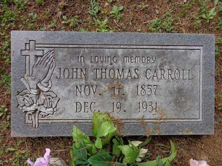CARROLL, JOHN THOMAS - Lewis County, Tennessee | JOHN THOMAS CARROLL - Tennessee Gravestone Photos