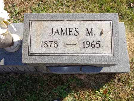 CARROLL, JAMES M - Lewis County, Tennessee | JAMES M CARROLL - Tennessee Gravestone Photos