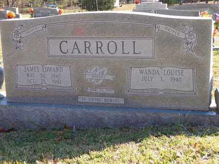 CARROLL, JAMES EDWARD - Lewis County, Tennessee | JAMES EDWARD CARROLL - Tennessee Gravestone Photos