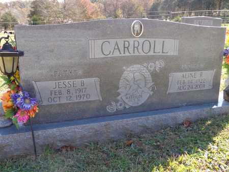 CARROLL, ALINE R - Lewis County, Tennessee | ALINE R CARROLL - Tennessee Gravestone Photos