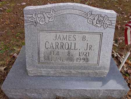 CARROLL, JAMES B (JR) - Lewis County, Tennessee   JAMES B (JR) CARROLL - Tennessee Gravestone Photos