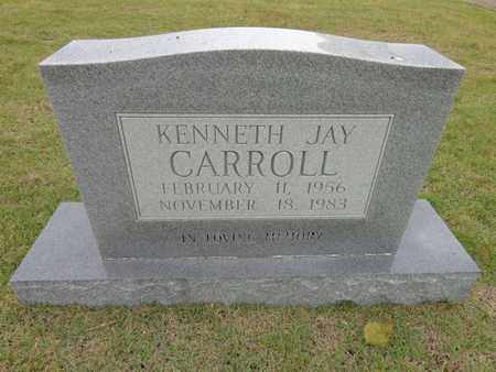 CARROLL, KENNETH JAY - Lewis County, Tennessee | KENNETH JAY CARROLL - Tennessee Gravestone Photos