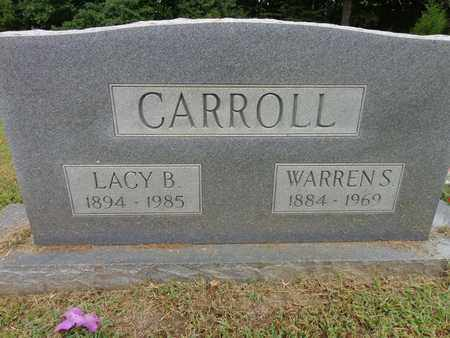 CARROLL, WARREN S - Lewis County, Tennessee | WARREN S CARROLL - Tennessee Gravestone Photos