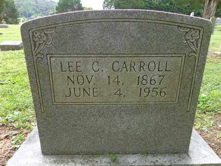 CARROLL, LEE C - Lewis County, Tennessee | LEE C CARROLL - Tennessee Gravestone Photos