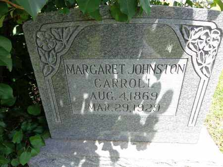 CARROLL, MARGARET JOHNSTON - Lewis County, Tennessee | MARGARET JOHNSTON CARROLL - Tennessee Gravestone Photos