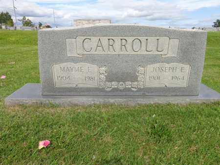 CARROLL, MAYME F - Lewis County, Tennessee | MAYME F CARROLL - Tennessee Gravestone Photos
