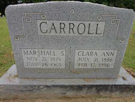 CARROLL, MARSHALL S - Lewis County, Tennessee | MARSHALL S CARROLL - Tennessee Gravestone Photos