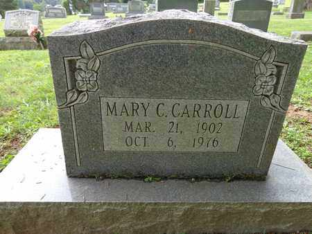 CARROLL, MARY C - Lewis County, Tennessee | MARY C CARROLL - Tennessee Gravestone Photos