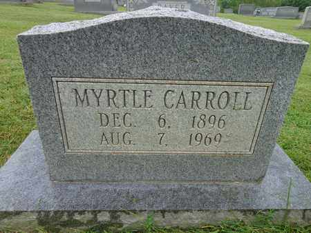 CARROLL, MYRTLE - Lewis County, Tennessee | MYRTLE CARROLL - Tennessee Gravestone Photos