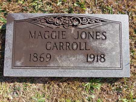 CARROLL, MAGGIE JONES - Lewis County, Tennessee | MAGGIE JONES CARROLL - Tennessee Gravestone Photos