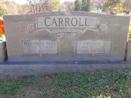 CARROLL, VIRGINIA S - Lewis County, Tennessee | VIRGINIA S CARROLL - Tennessee Gravestone Photos
