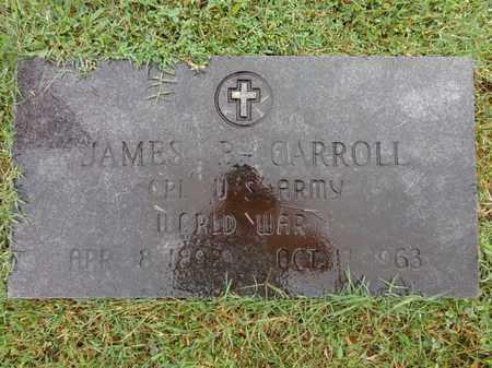 CARROLL  (VETERAN WWI), JAMES B - Lewis County, Tennessee | JAMES B CARROLL  (VETERAN WWI) - Tennessee Gravestone Photos