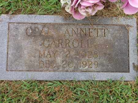 CARROLL, OPAL ANNETT - Lewis County, Tennessee | OPAL ANNETT CARROLL - Tennessee Gravestone Photos