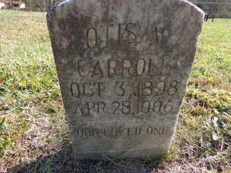 CARROLL, OTIS M - Lewis County, Tennessee | OTIS M CARROLL - Tennessee Gravestone Photos