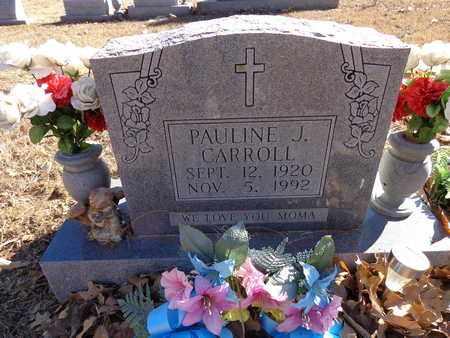CARROLL, PAULINE J. - Lewis County, Tennessee | PAULINE J. CARROLL - Tennessee Gravestone Photos
