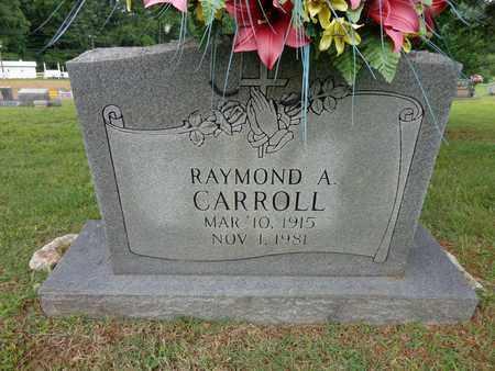 CARROLL, RAYMOND A - Lewis County, Tennessee   RAYMOND A CARROLL - Tennessee Gravestone Photos