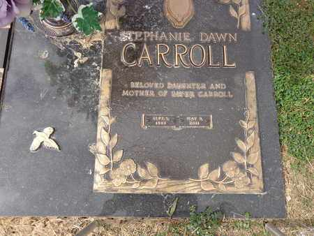CARROLL, STEPHANIE DAWN - Lewis County, Tennessee | STEPHANIE DAWN CARROLL - Tennessee Gravestone Photos