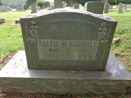 CARROLL, SALLIE M - Lewis County, Tennessee | SALLIE M CARROLL - Tennessee Gravestone Photos