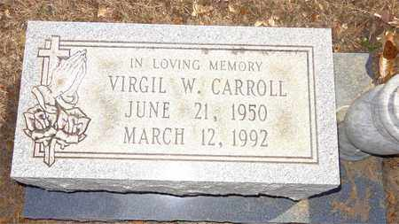 CARROLL, VIRGIL W. - Lewis County, Tennessee | VIRGIL W. CARROLL - Tennessee Gravestone Photos