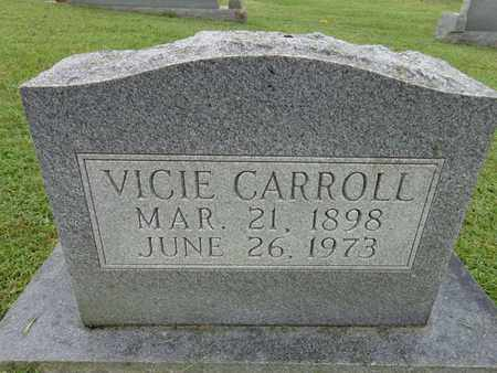 CARROLL, VICIE - Lewis County, Tennessee | VICIE CARROLL - Tennessee Gravestone Photos
