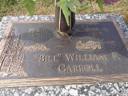 "CARROLL, WILLIAM F. ""BILL"" - Lewis County, Tennessee 