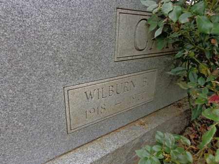 CARROLL, WILBURN B - Lewis County, Tennessee | WILBURN B CARROLL - Tennessee Gravestone Photos