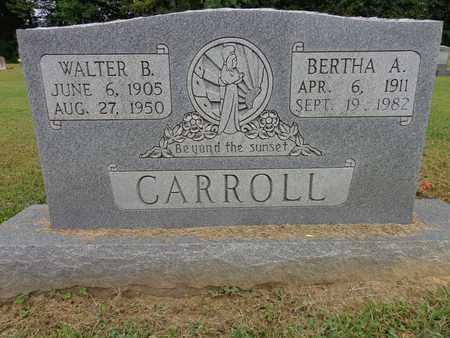 CARROLL, BERTHA A - Lewis County, Tennessee | BERTHA A CARROLL - Tennessee Gravestone Photos