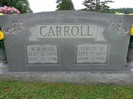 "CARROLL, W B ""BUD"" - Lewis County, Tennessee | W B ""BUD"" CARROLL - Tennessee Gravestone Photos"