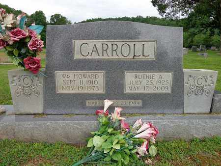 CARROLL, WILLIAM HOWARD - Lewis County, Tennessee | WILLIAM HOWARD CARROLL - Tennessee Gravestone Photos
