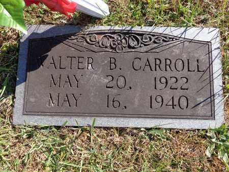 CARROLL, WALTER B - Lewis County, Tennessee | WALTER B CARROLL - Tennessee Gravestone Photos