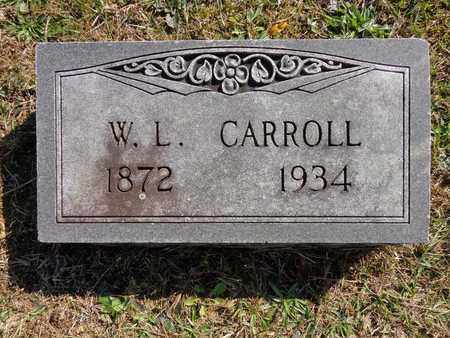 CARROLL, W L - Lewis County, Tennessee | W L CARROLL - Tennessee Gravestone Photos