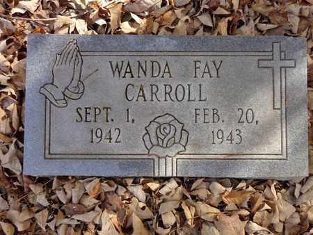 CARROLL, WANDA FAY - Lewis County, Tennessee   WANDA FAY CARROLL - Tennessee Gravestone Photos