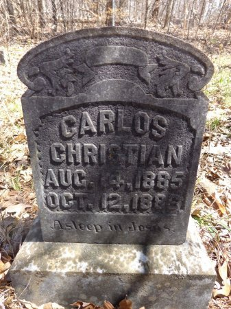 CHRISTIAN, CARLOS JONES - Lewis County, Tennessee | CARLOS JONES CHRISTIAN - Tennessee Gravestone Photos